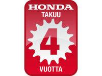 Honda takuu 4 vuotta -logo 2012